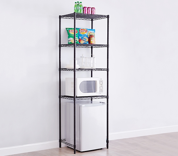 Essential Suprima Extra Height Mini Shelf Supreme Black College Shelving For More Dorm Room E