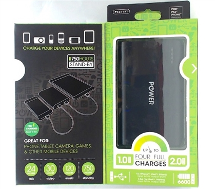 Portable Power 6600MAH College Supplies Dorm Essentials