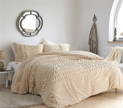 Sorry, Not Sorry - Coma Inducer Twin XL Comforter - Angora