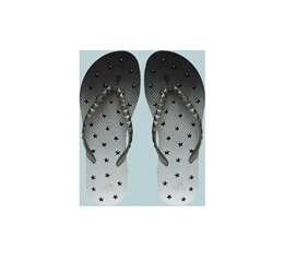 Showaflops - Women's Antimicrobial Shower Sandal - Ombre Stars