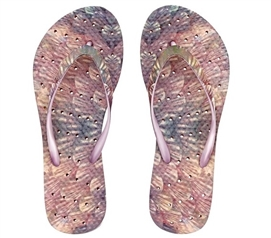 Showaflops - Women's Antimicrobial Shower Sandal - Mermaid