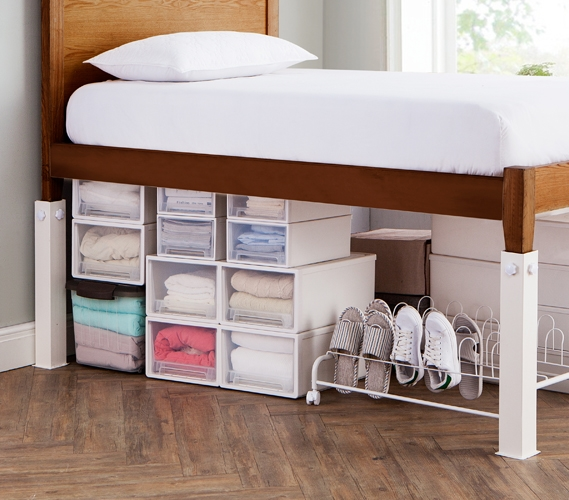 Adjustable Metal Bed Frame Twin