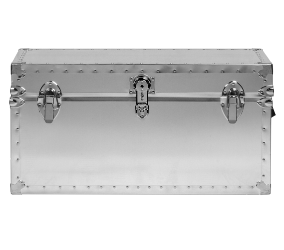 smooth steel trunk usa made - Storage Chest Trunk