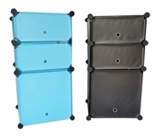 Snap Dorm Cubes - 3-Tier Nightstand