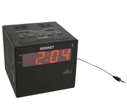 Bluetooth Power Station Dorm Alarm Clock