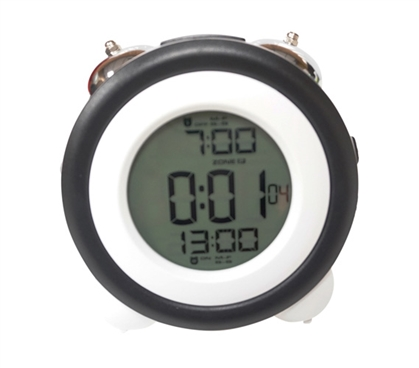 Atomic LCD Dorm Alarm Clock