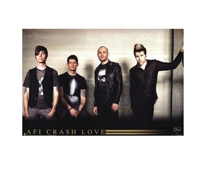 College Dorm Poster AFI Crash Love Dorm Room Decorations Dorm Room Decor