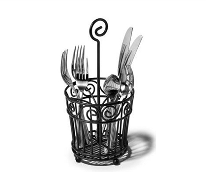 Black Wire Frame Silverware Caddy Dorm Storage Solutions Dorm Room Storage