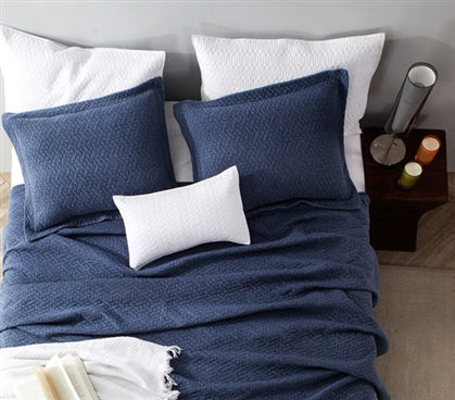 Softest Stone Washed Quilt - Nightfall Navy - Twin XL