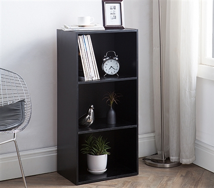 Yak About It Standard Floor Bookshelf - Black