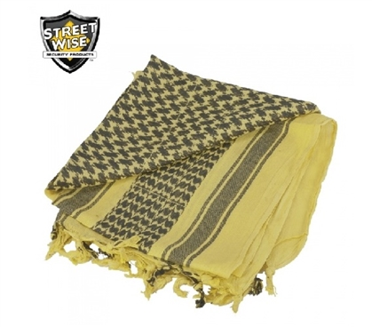 Tactical Shemagh Scarf - Coyote Brown