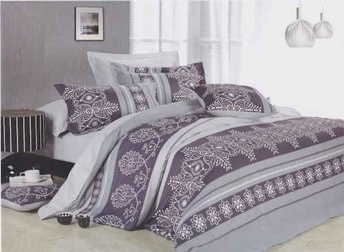 Purple Henna Twin XL Comforter Set Dorm Supplies Part 27