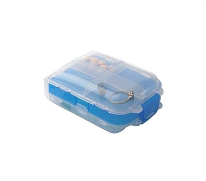 Tri-Fold Pill Storage Box