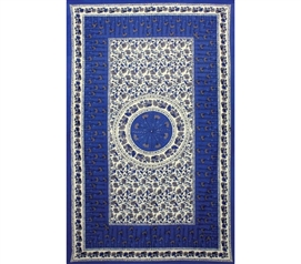 Blue Flower Tapestry Dorm Room Decorations