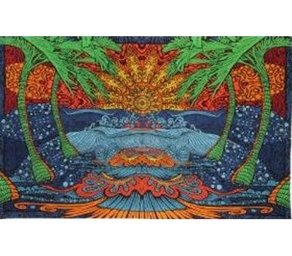 3d Epic Skulls Tapestry