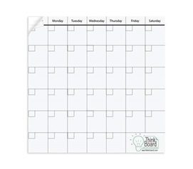 "Extra Large Think Board Calendar - 50"" x 50"""