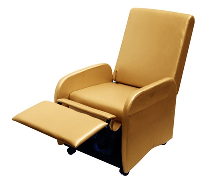 The College Recliner (Folds Compact) - Gold