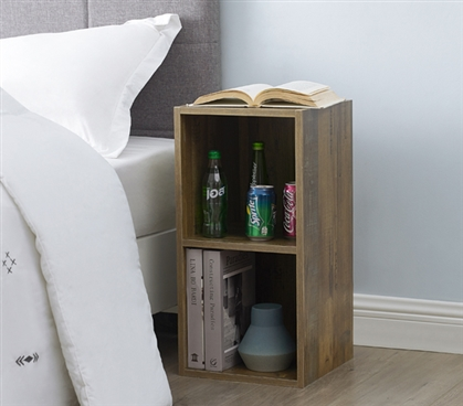 The Dorm Storage Cubes - Rustic