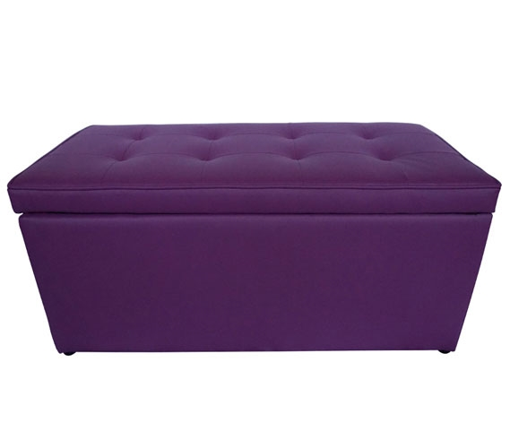 Outstanding The Dorm Bench Storage Seating Violet Purple Creativecarmelina Interior Chair Design Creativecarmelinacom