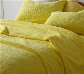 Coma Inducer Twin XL Sheets - The Napper - Limelight Yellow