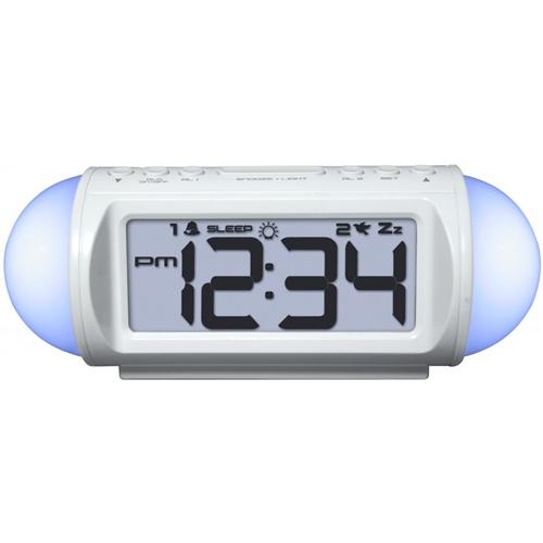 All Around Student Alarm Clock (Sound Machine, Mood Light & MP3