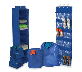Great College Supply - Ultra Closet Complete Set - Blue - Useful Closet Organizer