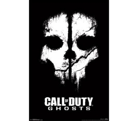 Buy Supplies For College - COD Ghosts - Dead Poster - Shop For Dorm Rooms