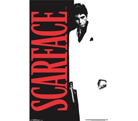 Decorate Your Dorm - Scarface - Classic Poster - Classic Movie Posters