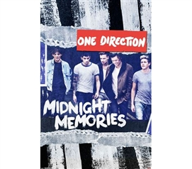 One Direction - Midnight Memories Poster - Music Posters For College