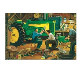 Best Items For College - John Deere Poster - Decorate Your Dorm Room