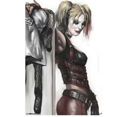 Best Dorm Supplies - Harley Quinn Poster - Decor For College