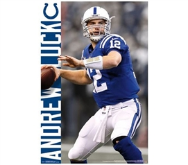 Dorm Essentials - Andrew Luck Poster - Buy Supplies For College