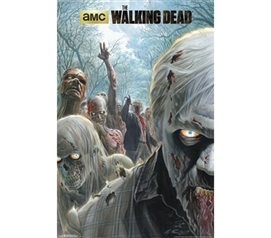 College Posters - Walking Dead - Zombie Poster - Decorate Your Dorm