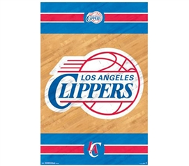 Dorm Essentials - Los Angeles Clippers Poster - Decorate Your Dorm