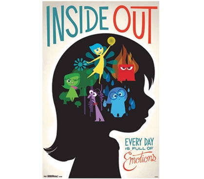 Inside Out Emotions Poster