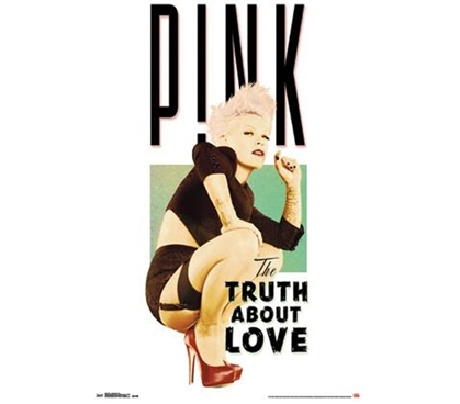 Shop For College - Pink - Truth About Love Poster - Buy Supplies For College