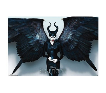 Cool Dorm Stuff - Maleficent - Wings Poster - Shop For College