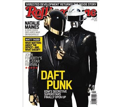 Cheap College Decor - Rolling Stone - Daft Punk 13 Poster - Best Dorm Stuff
