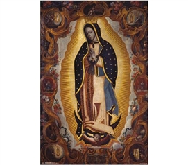 Posters For College Students - La Virgen De Guadalupe Poster - Decorate Your Dorm