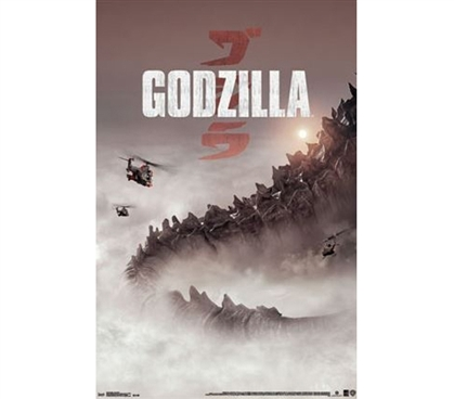 Posters For College - Godzilla - One Sheet Poster - Decorate Your Dorm