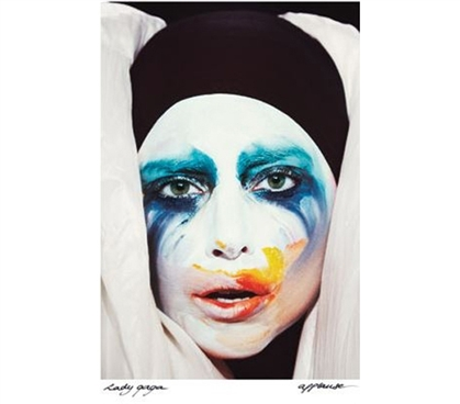 Wall Decor For Dorms - Lady Gaga - Applause Poster - Cheap Dorm Items