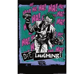 Items For College - Joker - Die Laughing Poster - Decorate Your Dorm