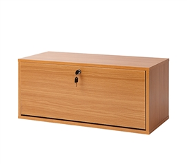 Yak About It Locking Safe Trunk - Beech