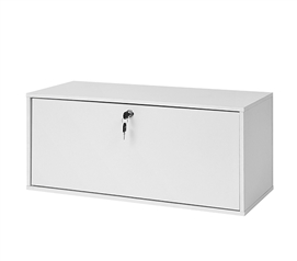 Yak About It Locking Safe Trunk - White