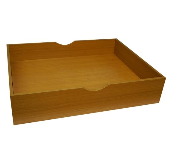 The Storage Max Underbed Wooden Organizer With Wheels Beech