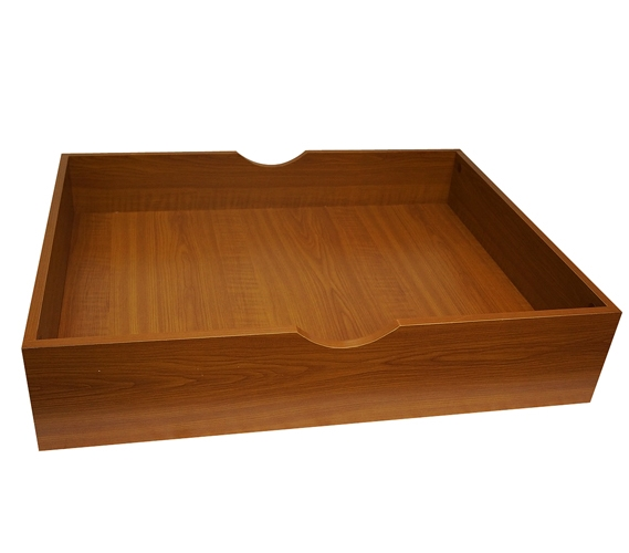 The Storage Max Underbed Wooden Organizer With Wheels Cherry