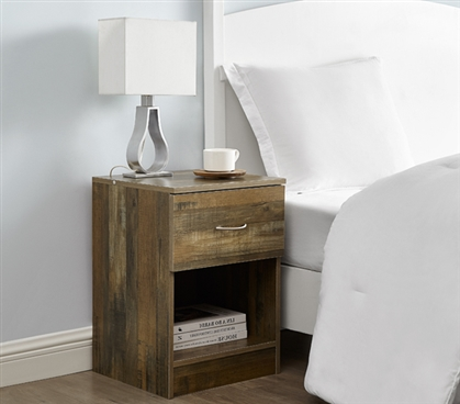 The Yak About It Standard Nightstand - Rustic