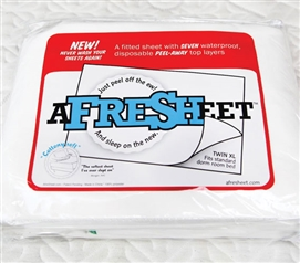 Twin XL Fitted Sheet Twin Fitted Sheet A Fresh Sheet - 7-Layer Peel Fresh Fitted Sheet