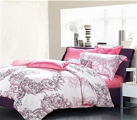 Comforter for College Goodnight Kiss Twin XL Dorm Bedding for Girls