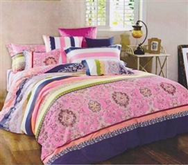 College Dorm Bedding Tayleur Extra Long Comforter Girls Dorm Bedding